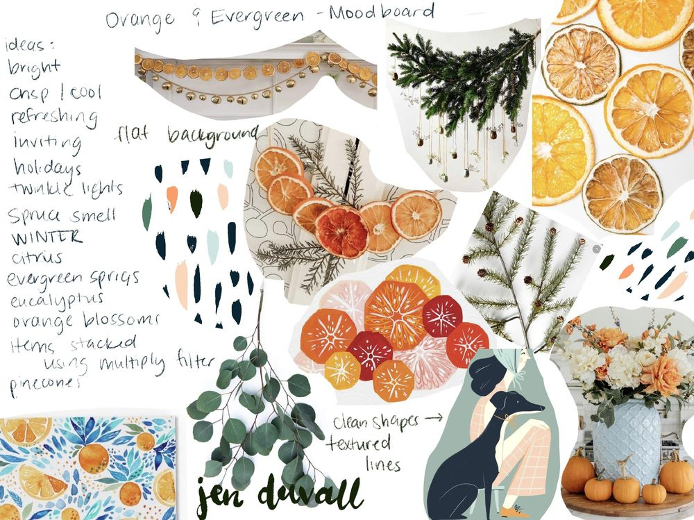 Citrus & Evergreen - image 1 - student project