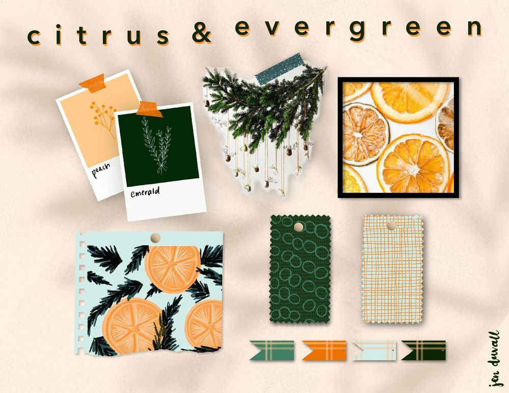 Citrus & Evergreen - image 4 - student project
