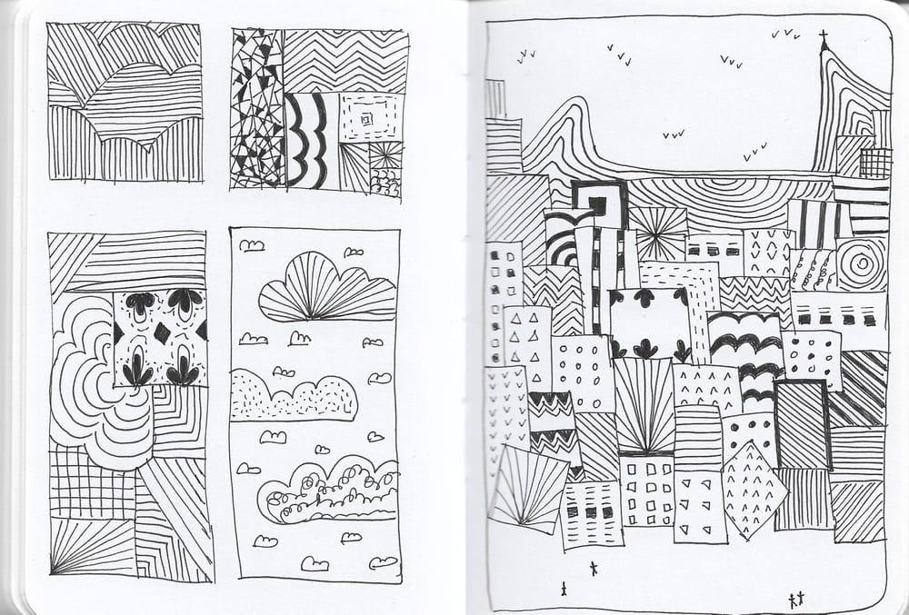 Favela Doodle - image 2 - student project
