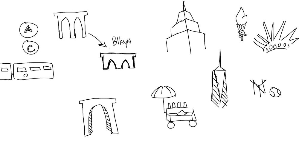 NYC Iconography - image 2 - student project
