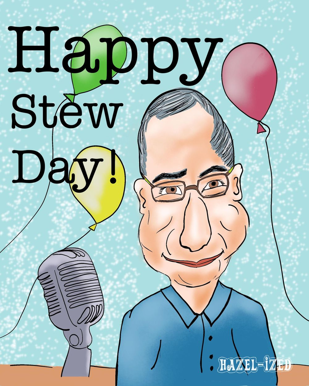 Birthday card for brother Stew - image 1 - student project