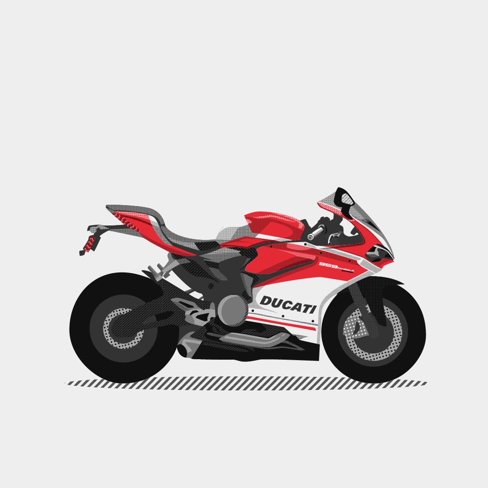 Ducati 959 Panigale Corse - image 2 - student project