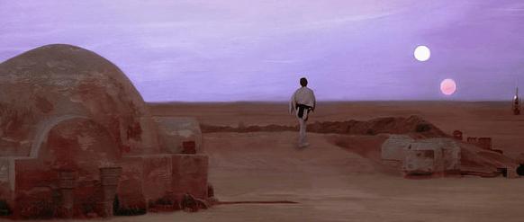 Tatooine Star Wars - image 1 - student project