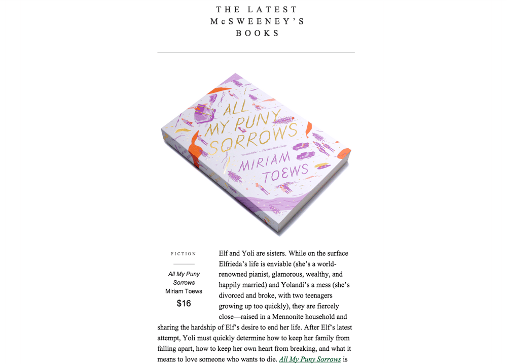 A Brand Newsletter That Feels Like a Bookstore - image 3 - student project