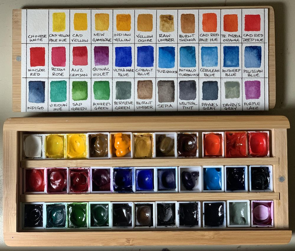 Paints and Palette - image 1 - student project