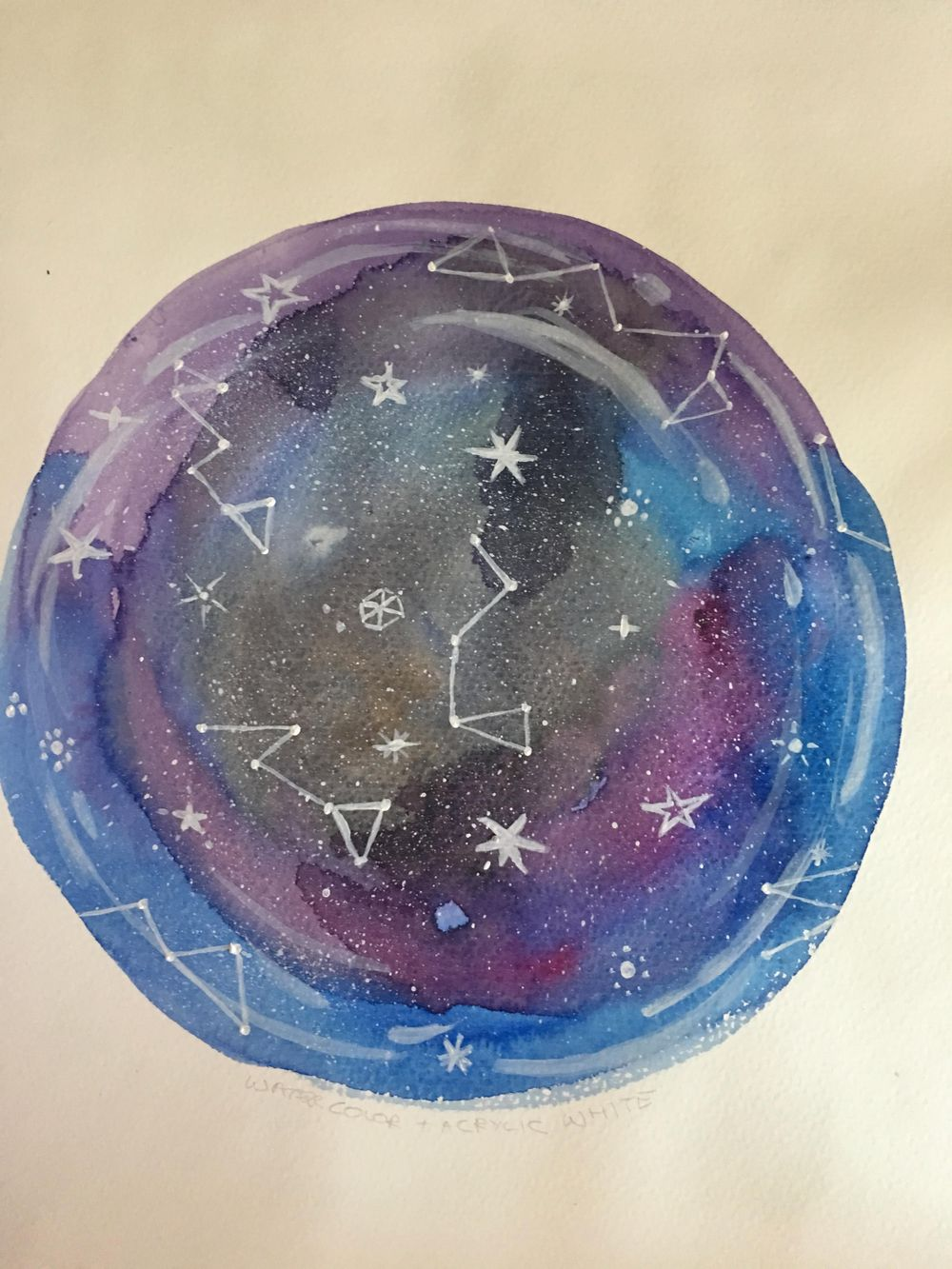 Watercolor & Mixed Media Class - image 3 - student project