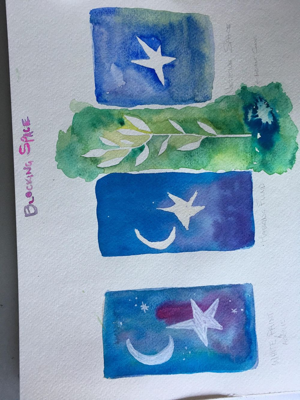 Watercolor & Mixed Media Class - image 1 - student project