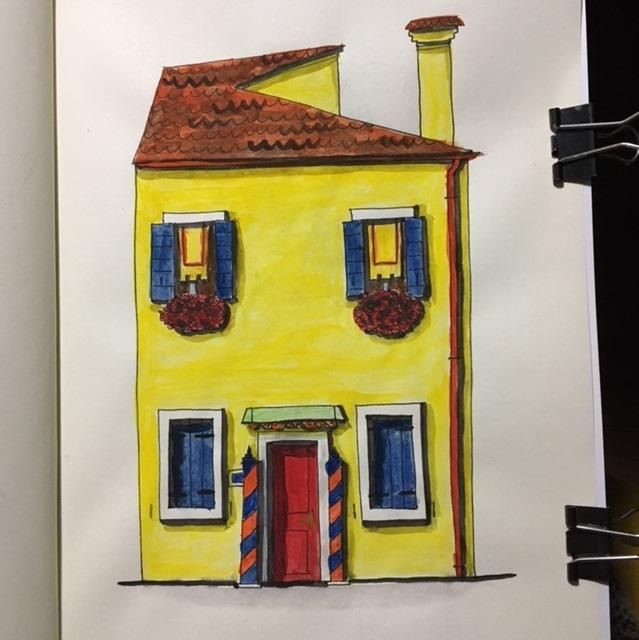 Burano house - image 3 - student project