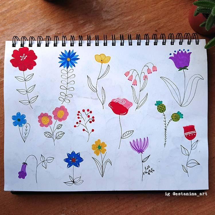 My flower meadow - image 2 - student project