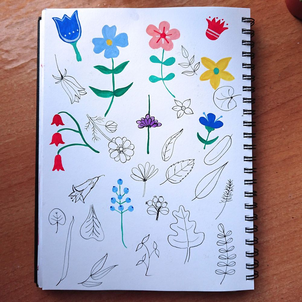 My flower meadow - image 3 - student project