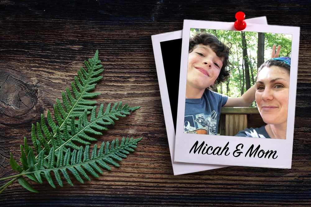 Micah & Mom Polaroid - image 1 - student project