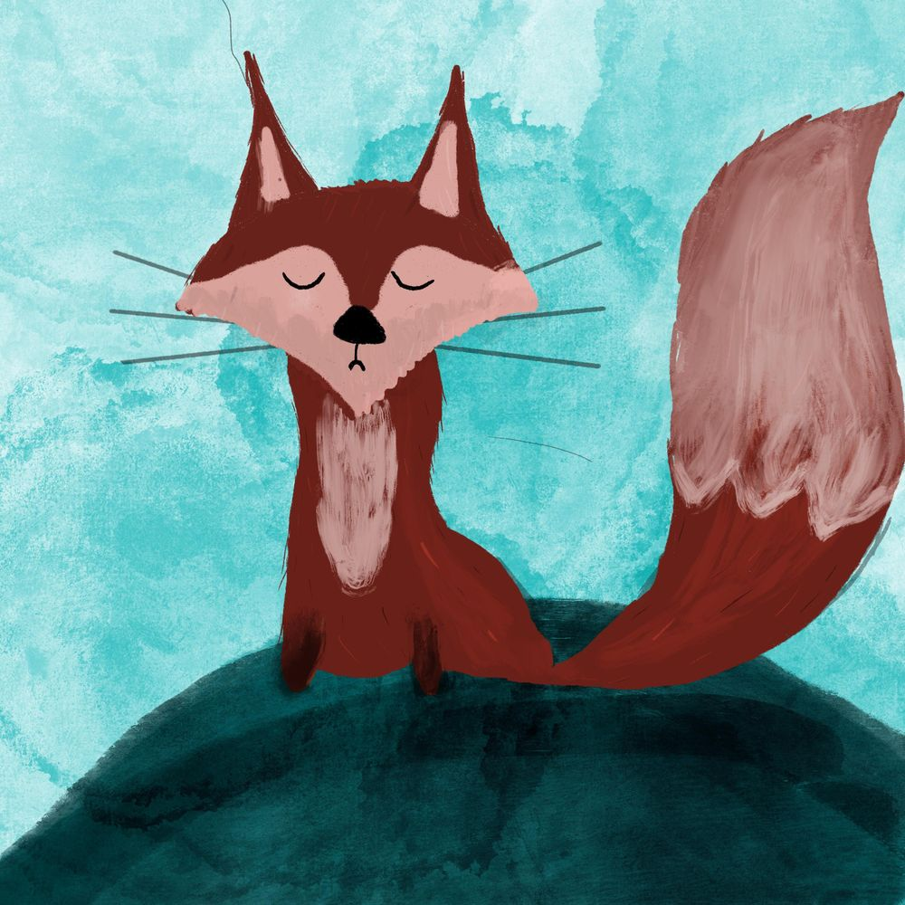 Fox and Raccoon - image 2 - student project