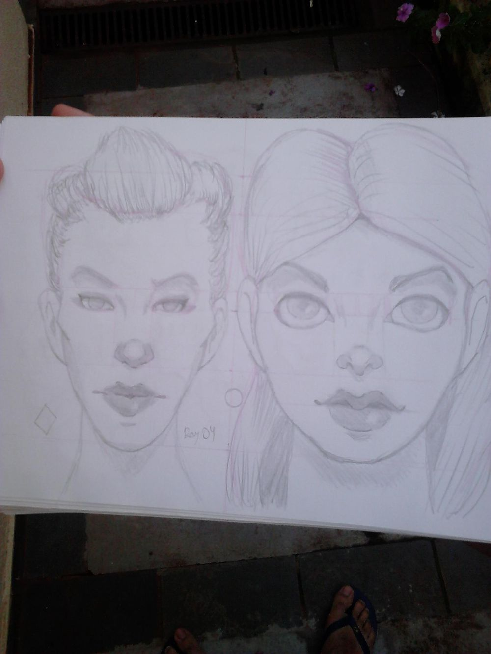 Some female character - image 2 - student project