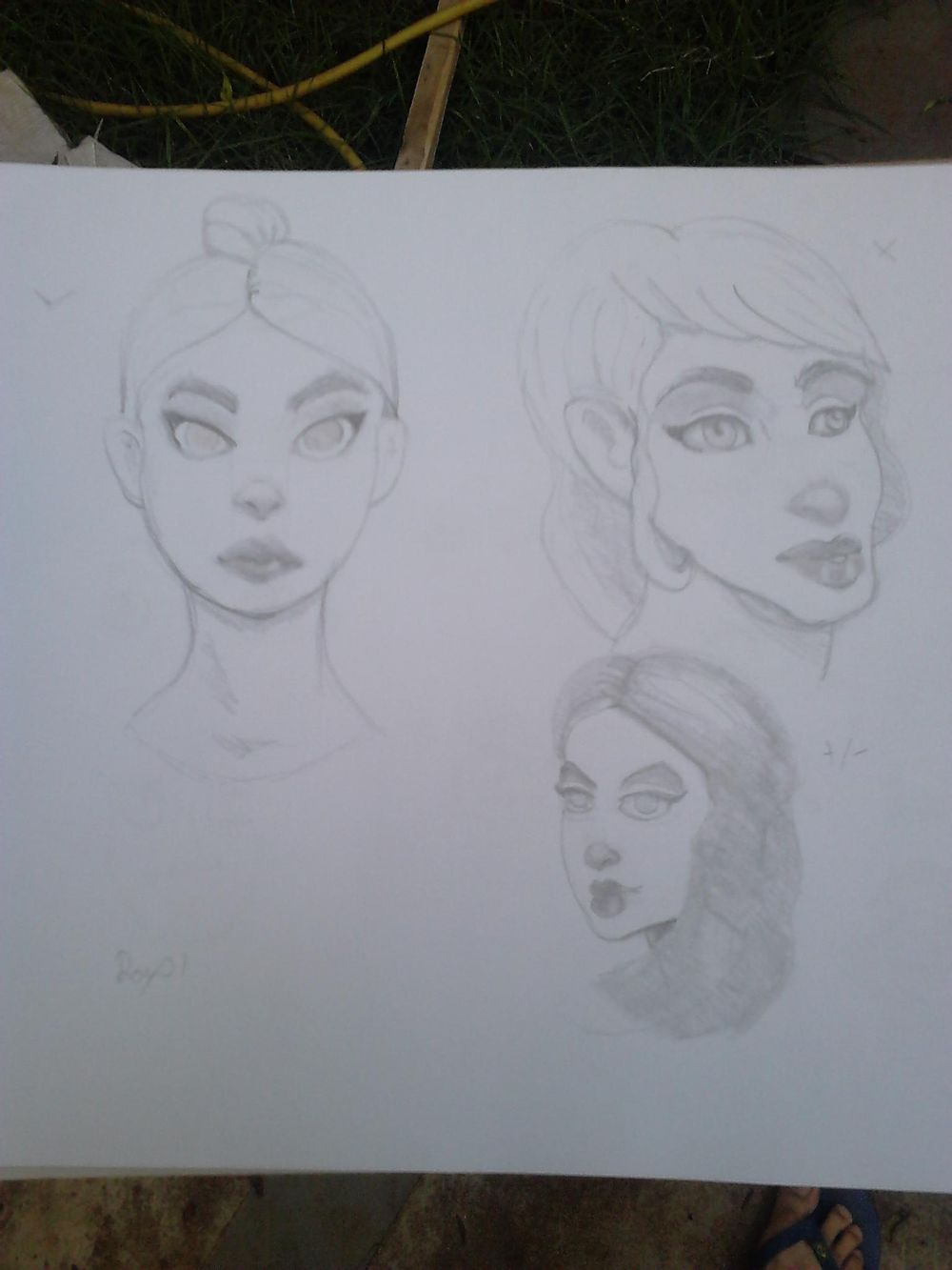 Some female character - image 1 - student project