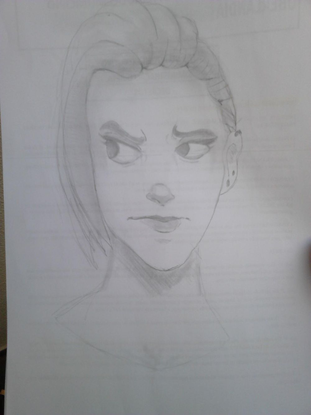 Some female character - image 5 - student project