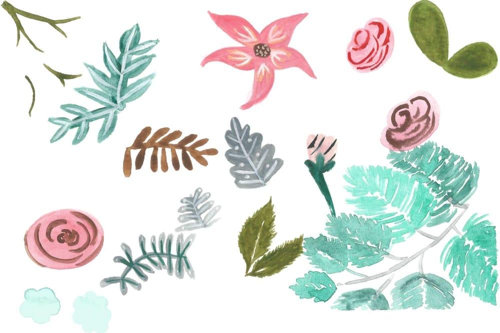 Florals Practice - image 5 - student project