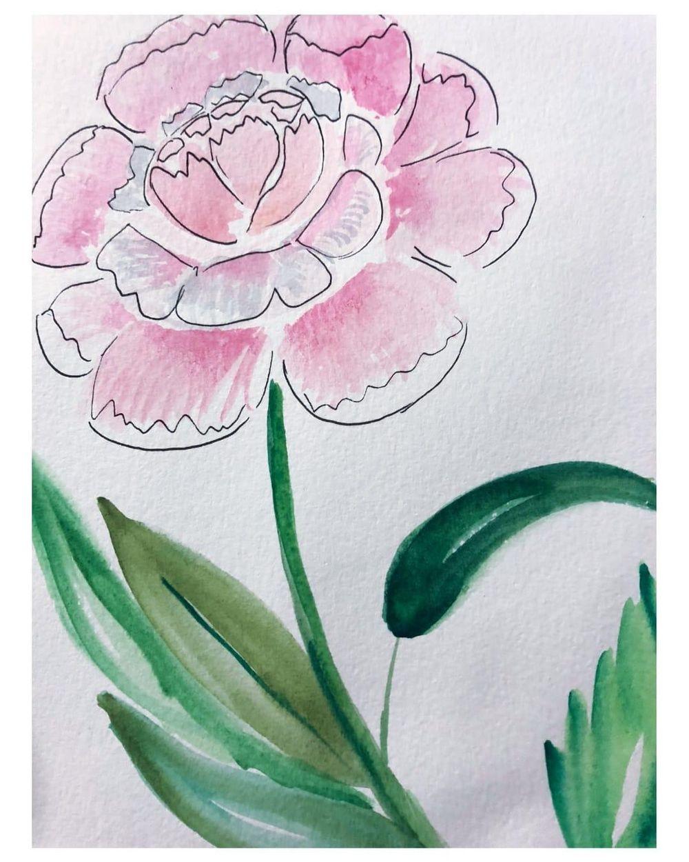 Florals Practice - image 10 - student project