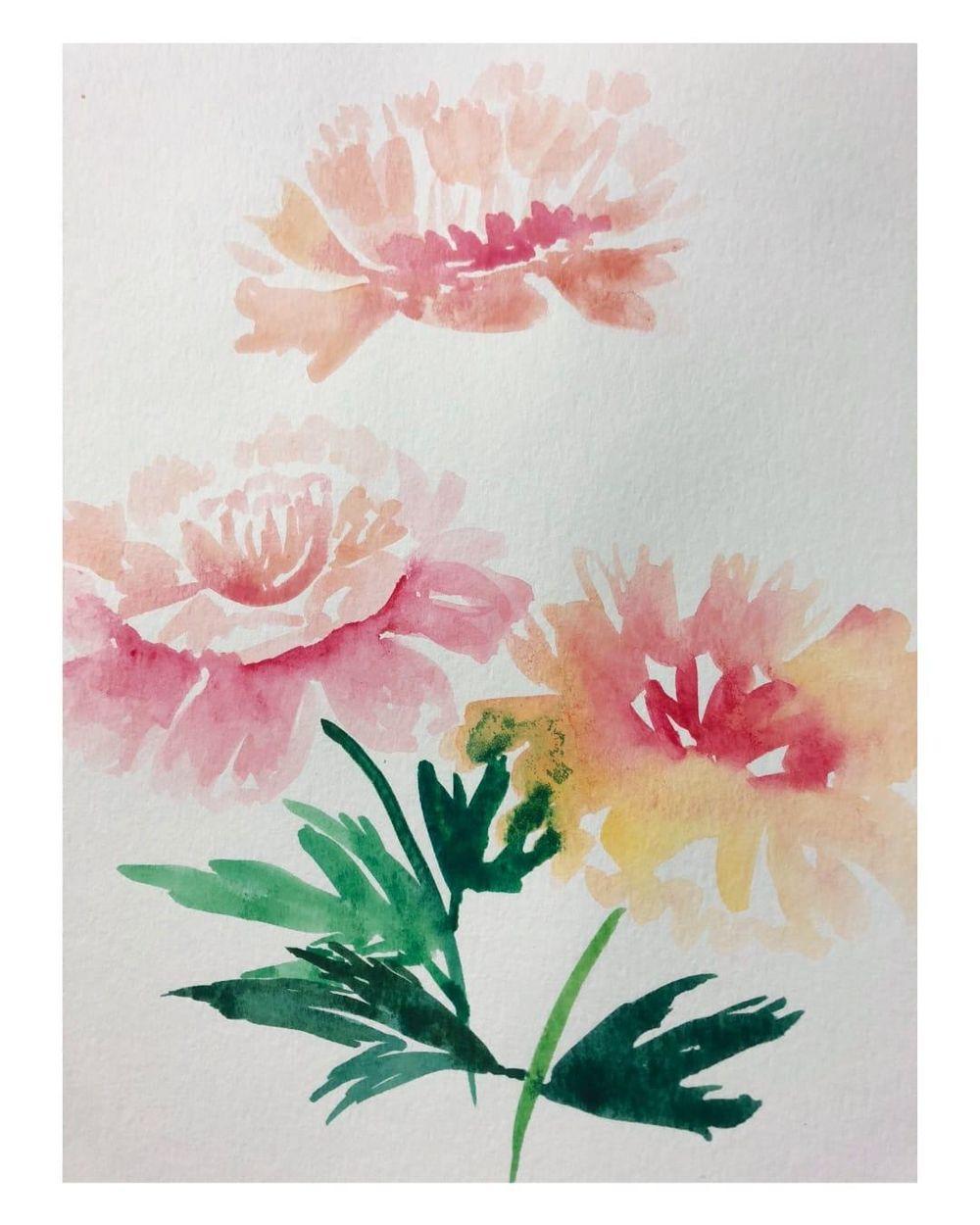 Florals Practice - image 8 - student project