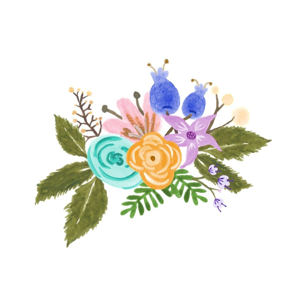 Florals Practice - image 7 - student project