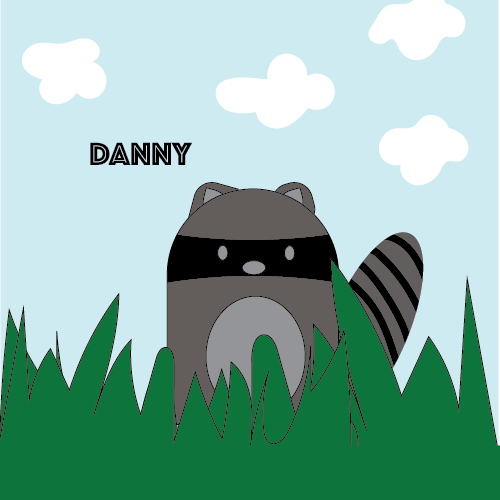 Raccoon Pillow for Danny - image 8 - student project