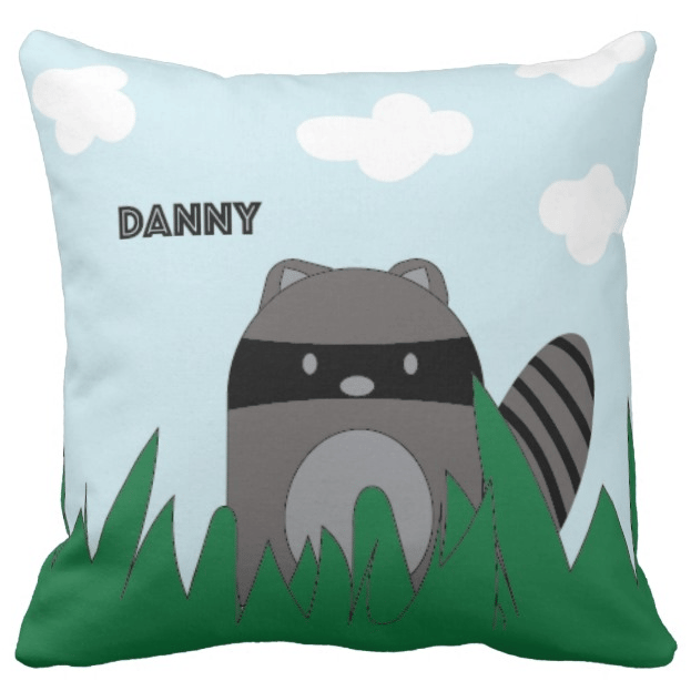Raccoon Pillow for Danny - image 1 - student project