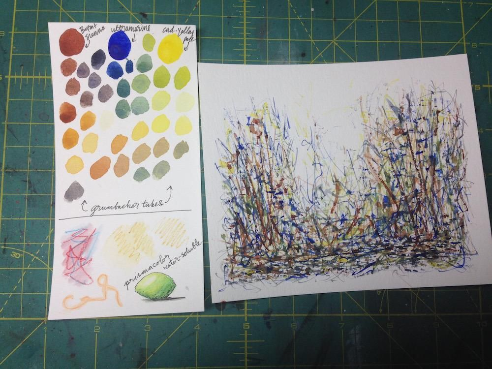 Mixing Watercolors - image 4 - student project