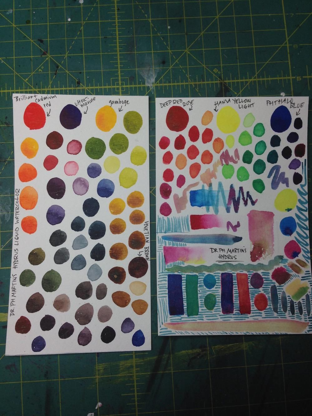 Mixing Watercolors - image 2 - student project