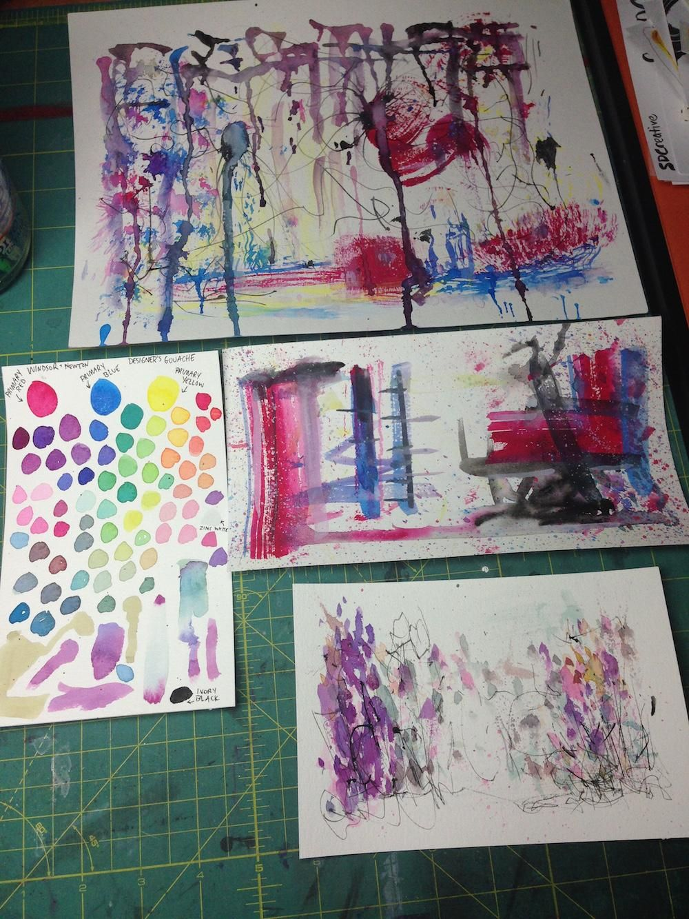 Mixing Watercolors - image 5 - student project