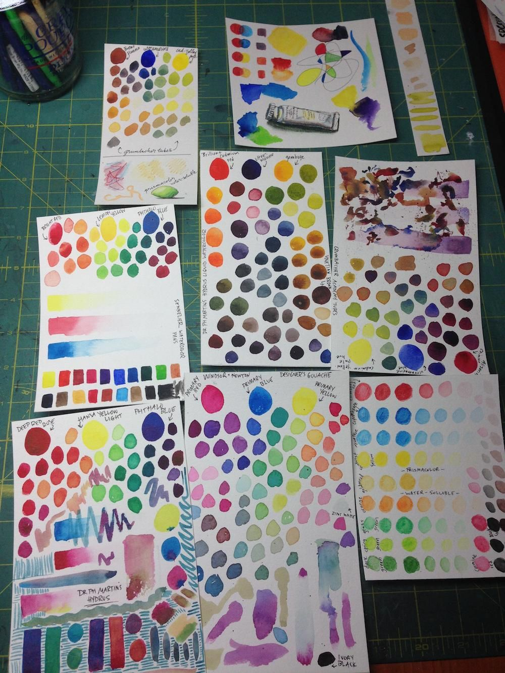 Mixing Watercolors - image 1 - student project
