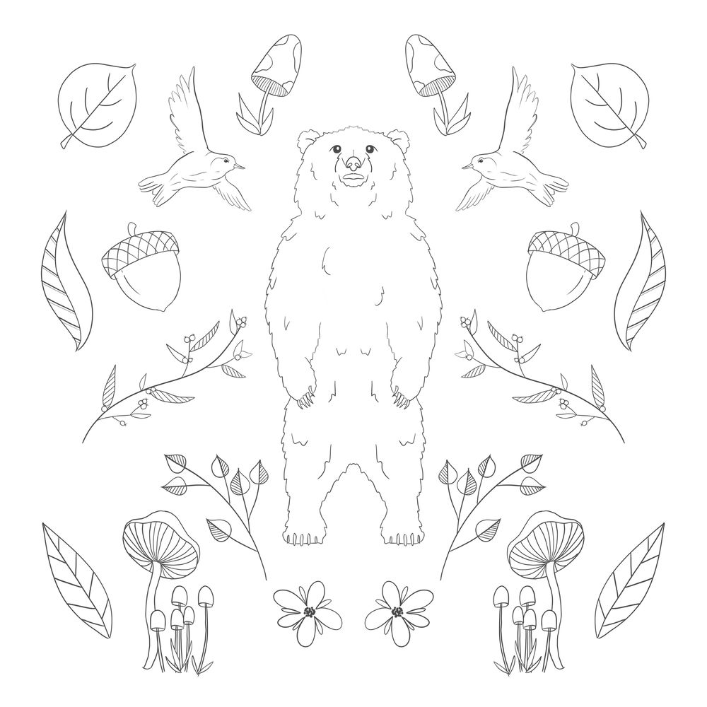 Woodsy Bear - image 4 - student project