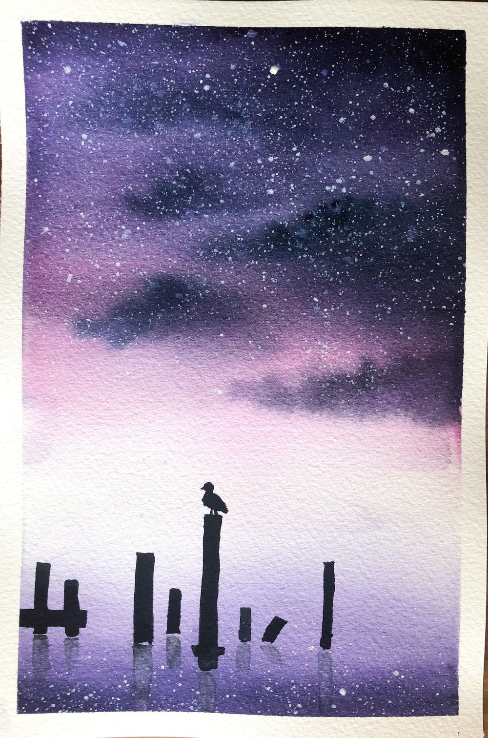 Serene Landscapes Watercolour - image 2 - student project