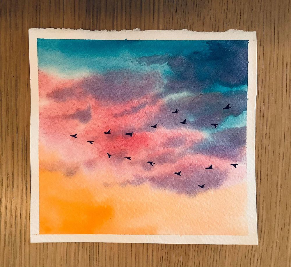 birds in the sky - image 5 - student project