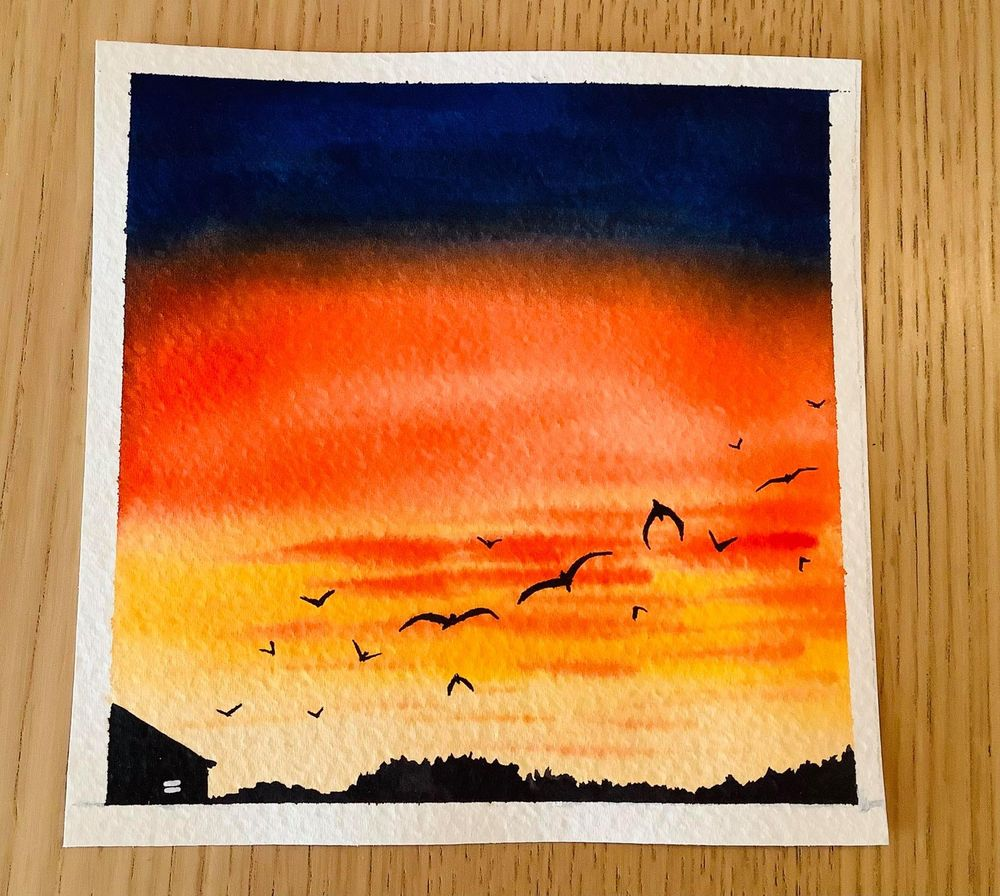 birds in the sky - image 2 - student project