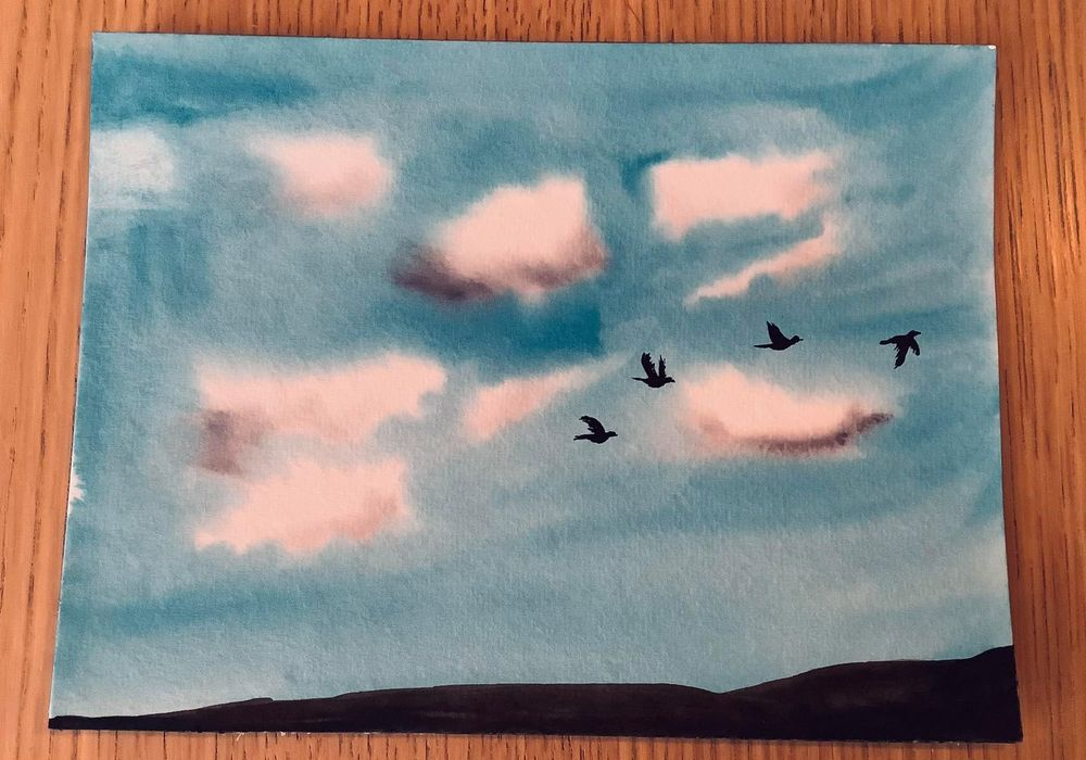 birds in the sky - image 9 - student project