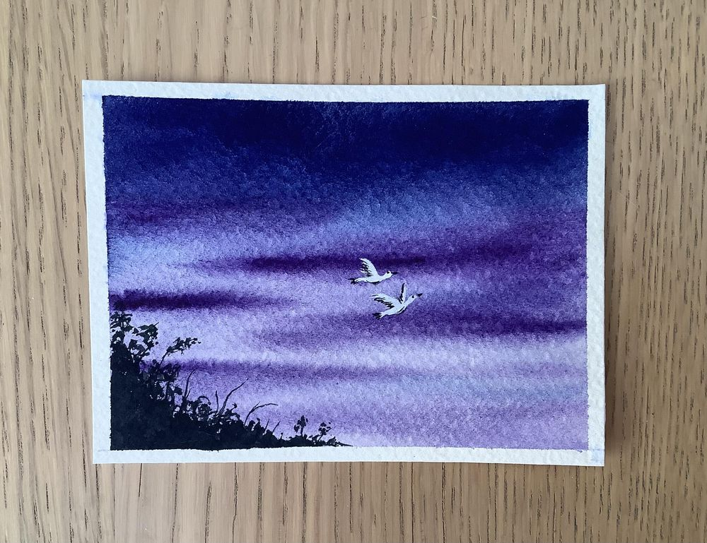birds in the sky - image 14 - student project
