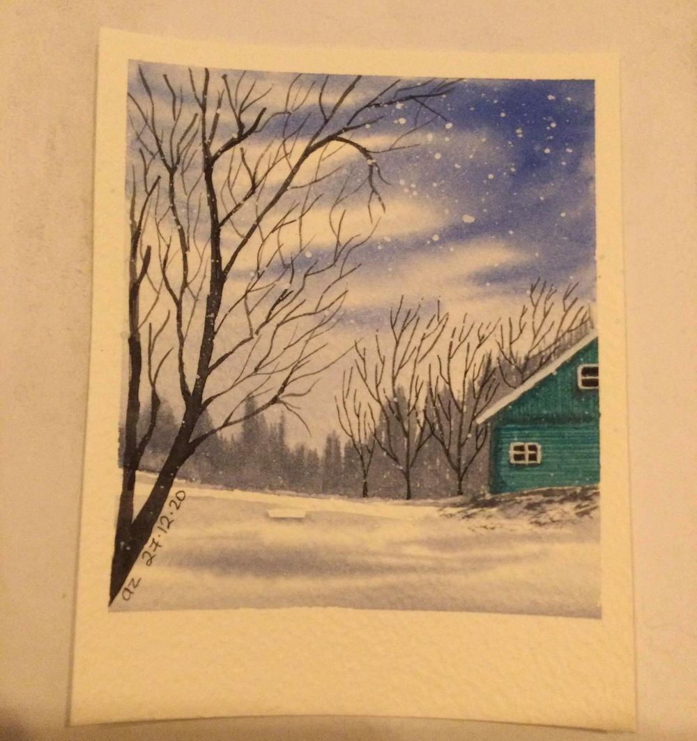 winter polaroids - image 2 - student project