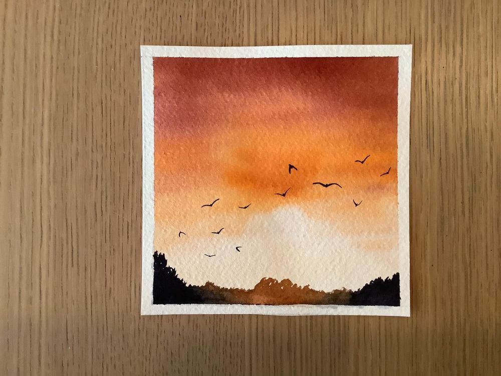 birds in the sky - image 1 - student project