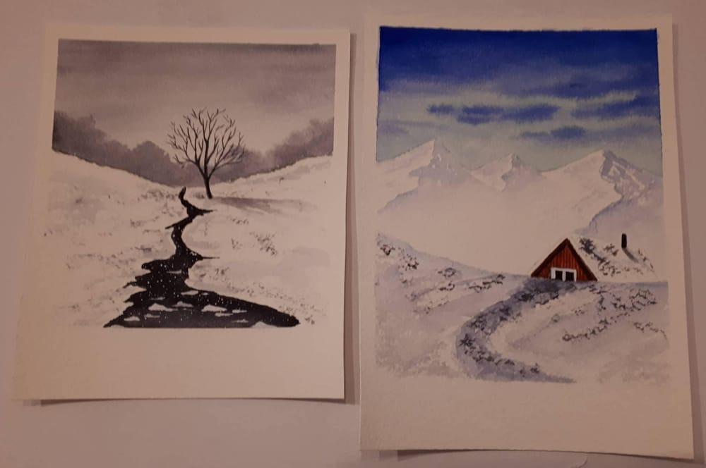 winter polaroids - image 3 - student project