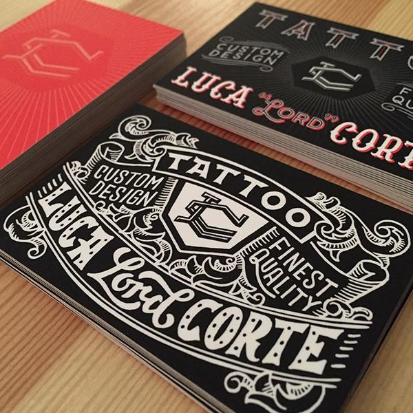 Tattoo Business Card - image 11 - student project