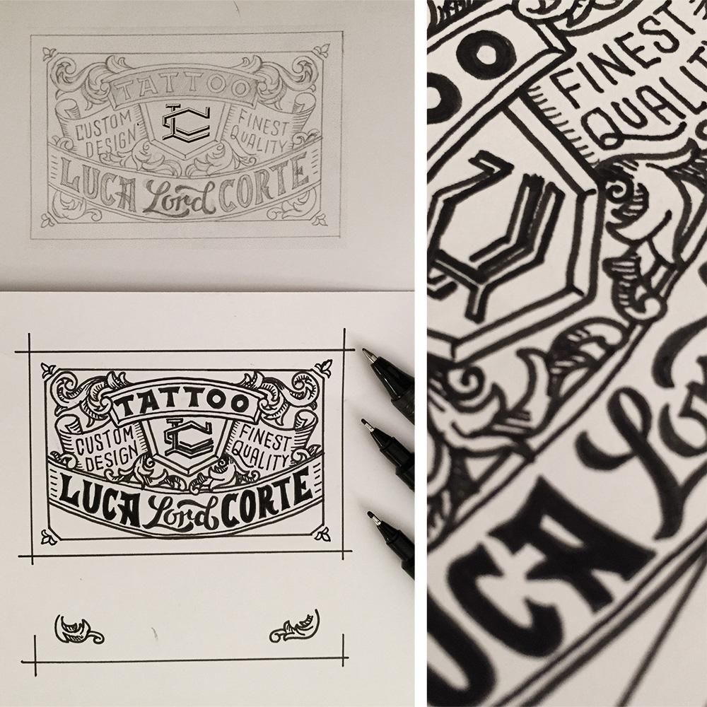 Tattoo Business Card - image 6 - student project