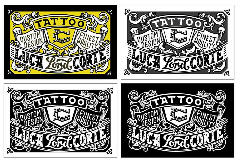 Tattoo Business Card - image 8 - student project