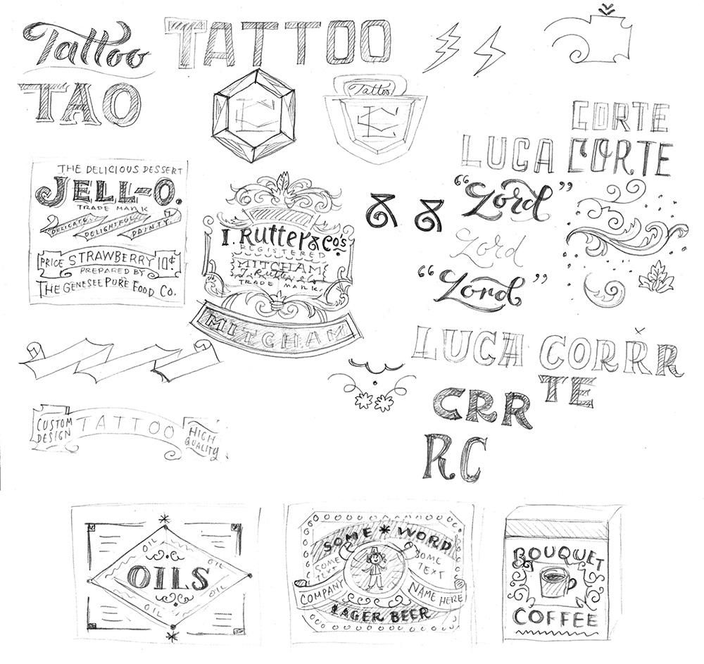 Tattoo Business Card - image 3 - student project