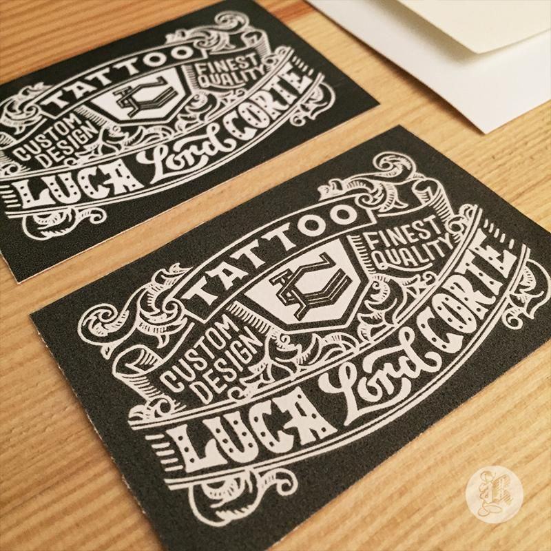 Tattoo Business Card - image 10 - student project