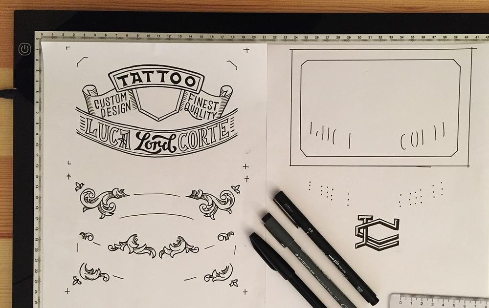 Tattoo Business Card - image 7 - student project
