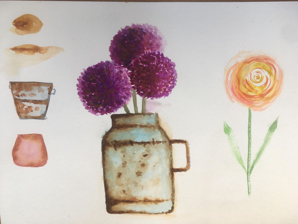 Flowers - image 3 - student project