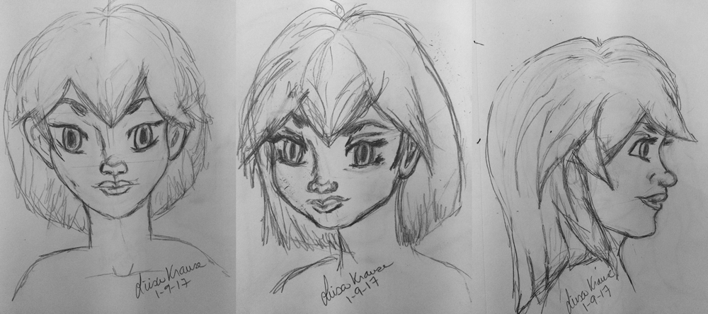 Character Turn Around - image 2 - student project