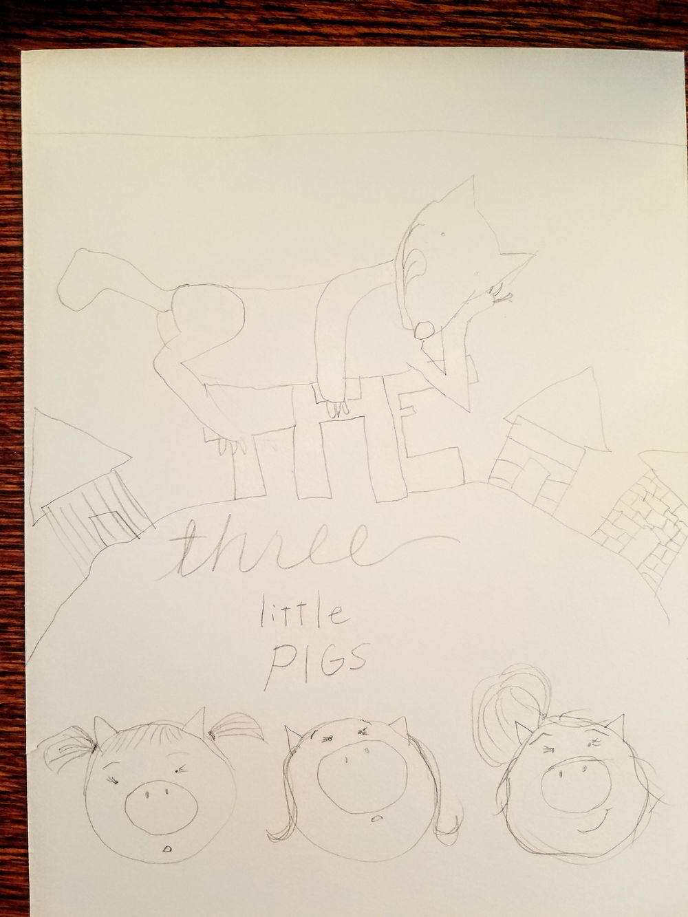 three little (girl) pigs - image 2 - student project