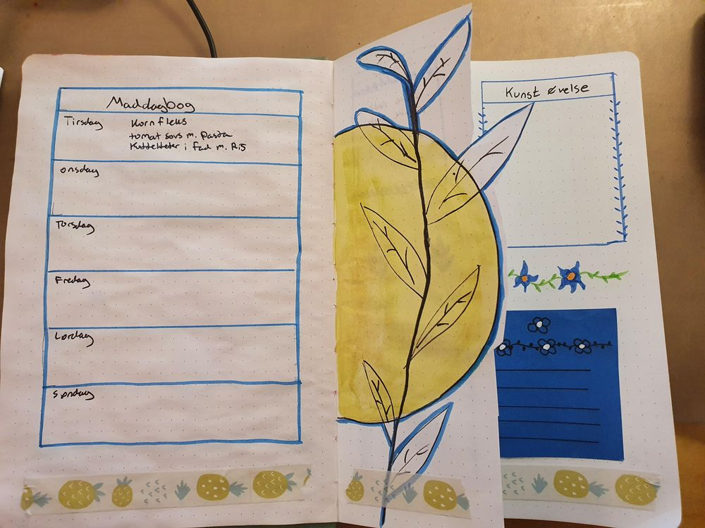 my journal 2 pages - image 1 - student project