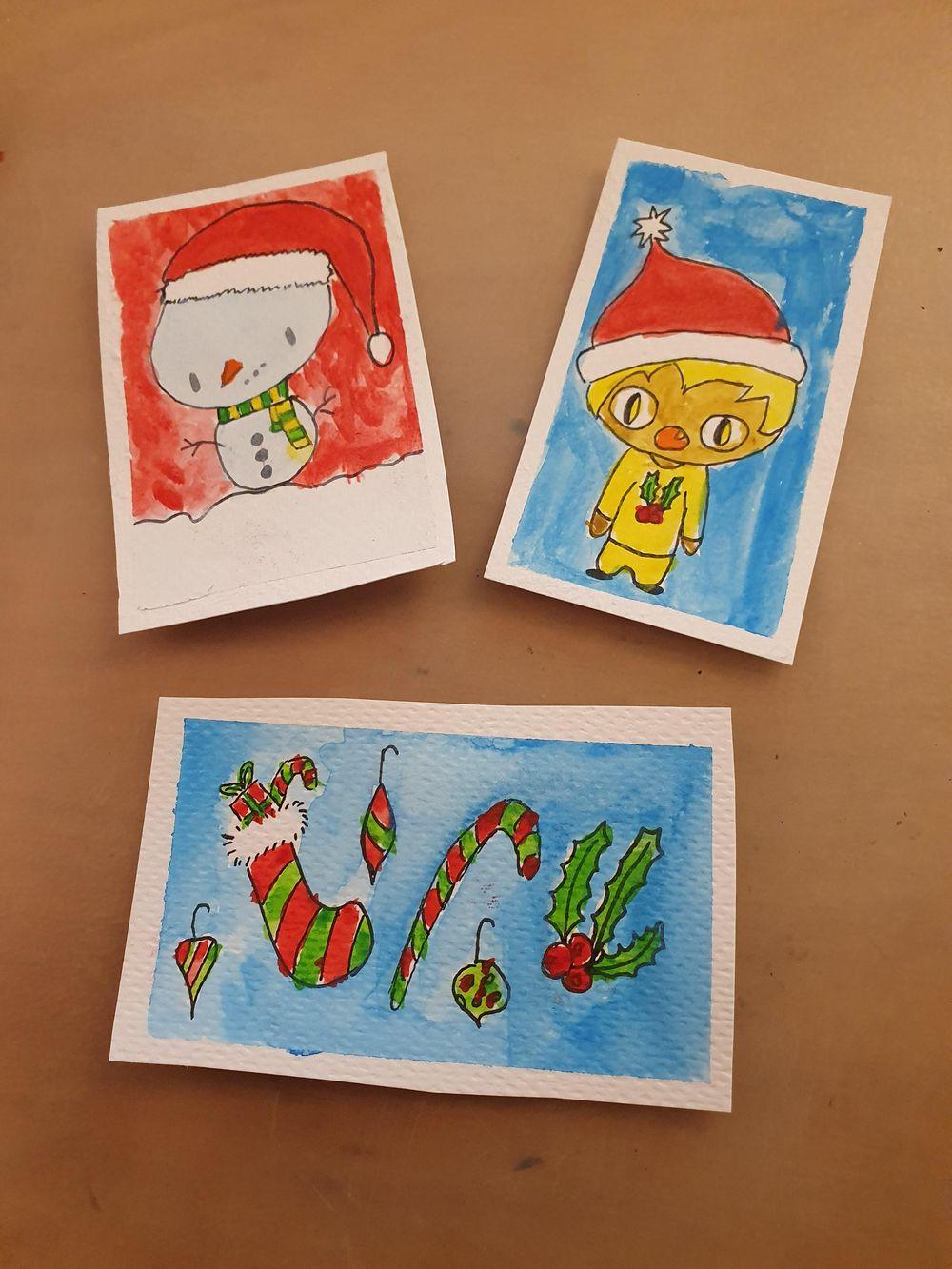 Cute chrismas cards - image 1 - student project