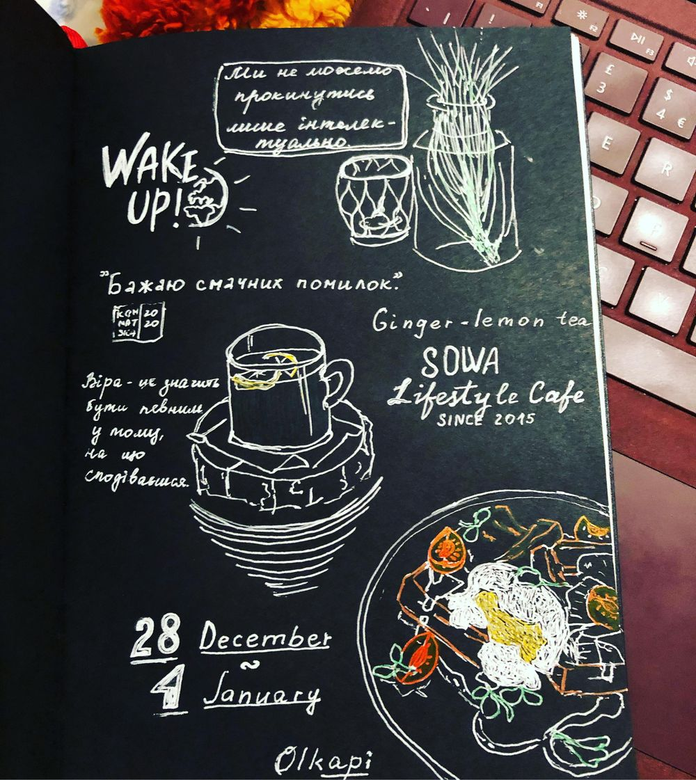 My first sketchbook - image 1 - student project